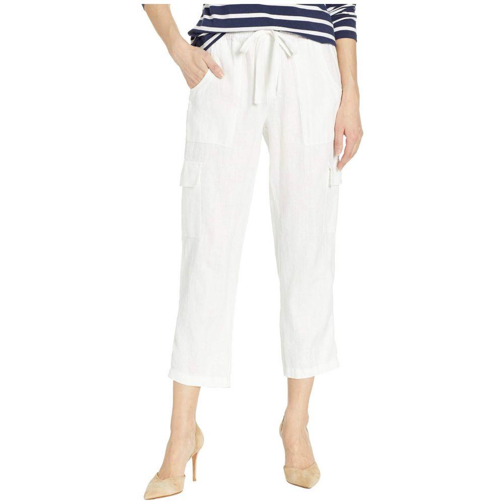 サンクチュアリ Sanctuary レディース カーゴパンツ ボトムス・パンツ【Discover Pull-On Linen Cargo Pants】Brite White
