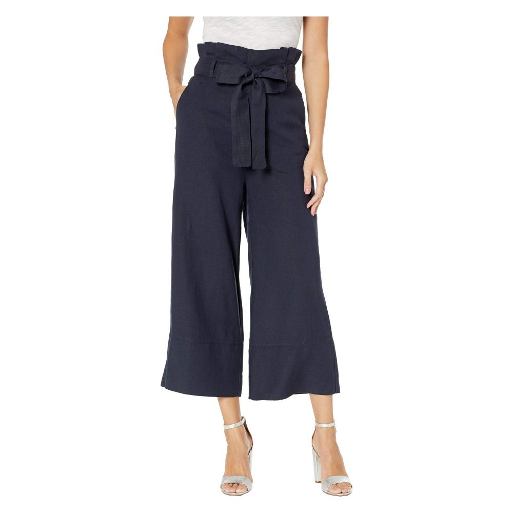 ブランクニューヨーク Blank NYC レディース ボトムス・パンツ 【Linen Belted Pants in Navy】Navy