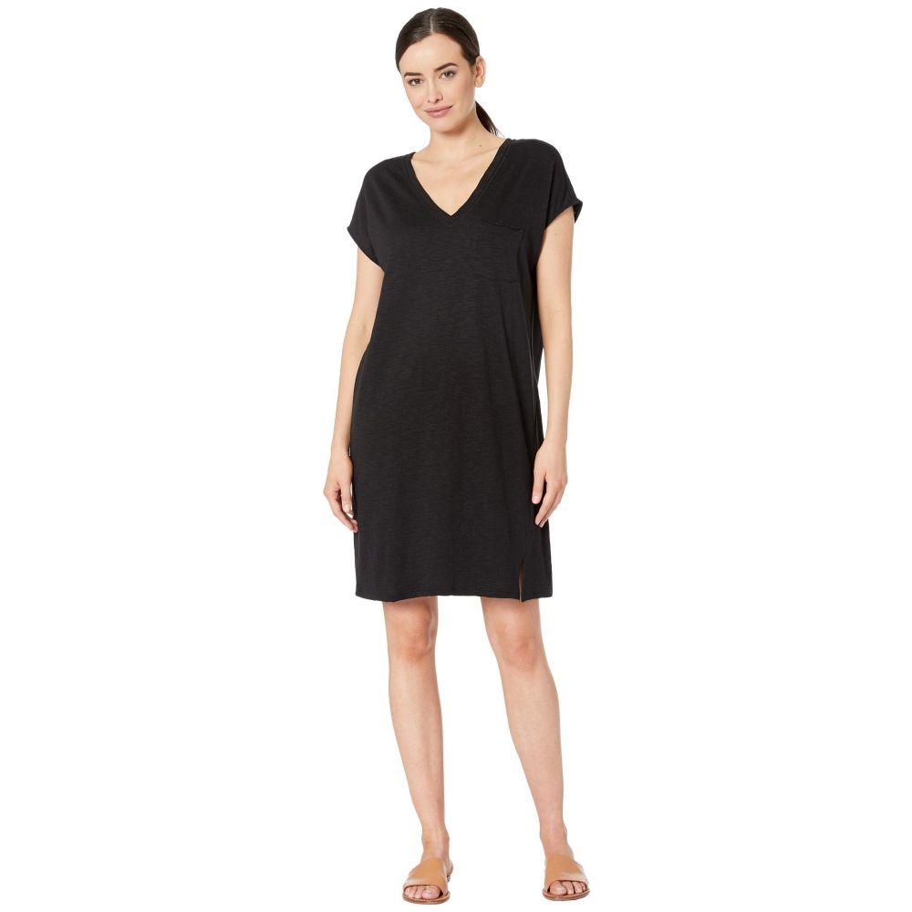 リラピー Lilla P レディース ワンピース Vネック ワンピース・ドレス【Double V-Neck Flame Modal Dress】Black