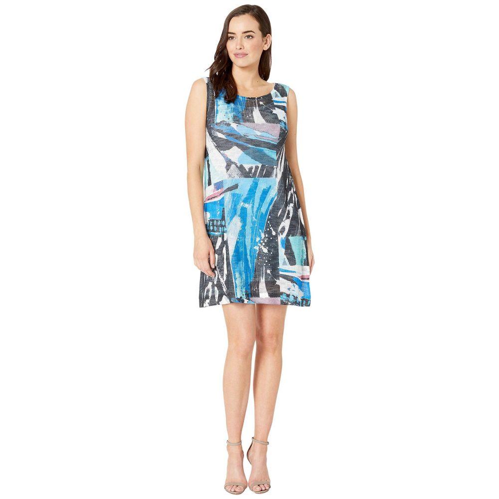 ナリーアンドミリー Nally & Millie レディース ワンピース スリップドレス ワンピース・ドレス【Art Print Dress with Slip Dress Layer】Multi