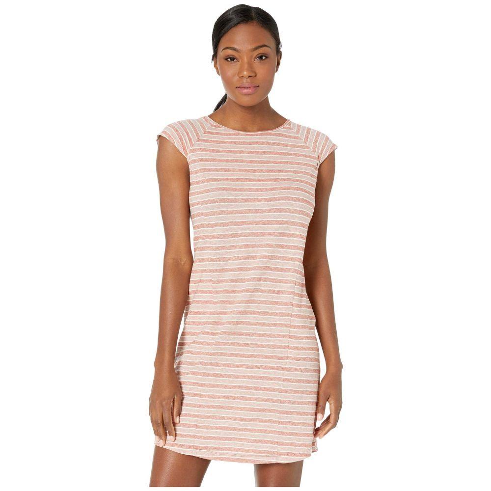 ナウ NAU レディース ワンピース ワンピース・ドレス【Kanab Cap Sleeve Dress】Rosen Stripe