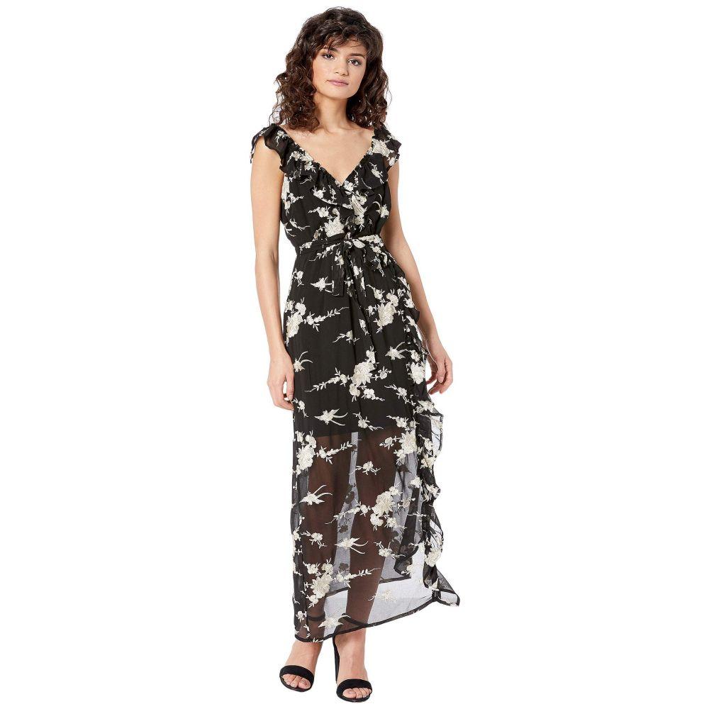 バルドー Bardot レディース ワンピース ワンピース・ドレス【Embroidery Dress】Black