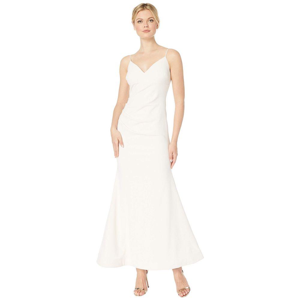 カルバンクライン Calvin Klein レディース パーティードレス ワンピース・ドレス【Ruched Gown】Blossom