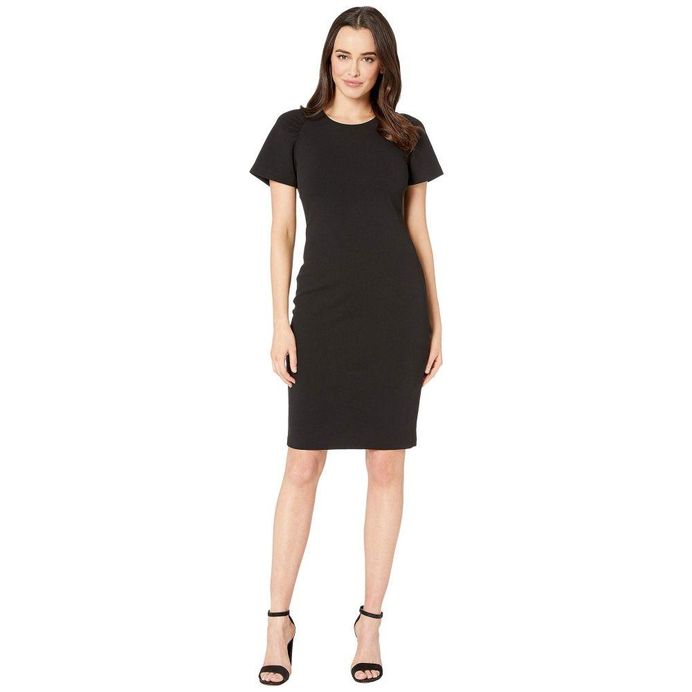 カルバンクライン Calvin Klein レディース ワンピース ワンピース・ドレス【Cap Sleeve Solid Dress】Black