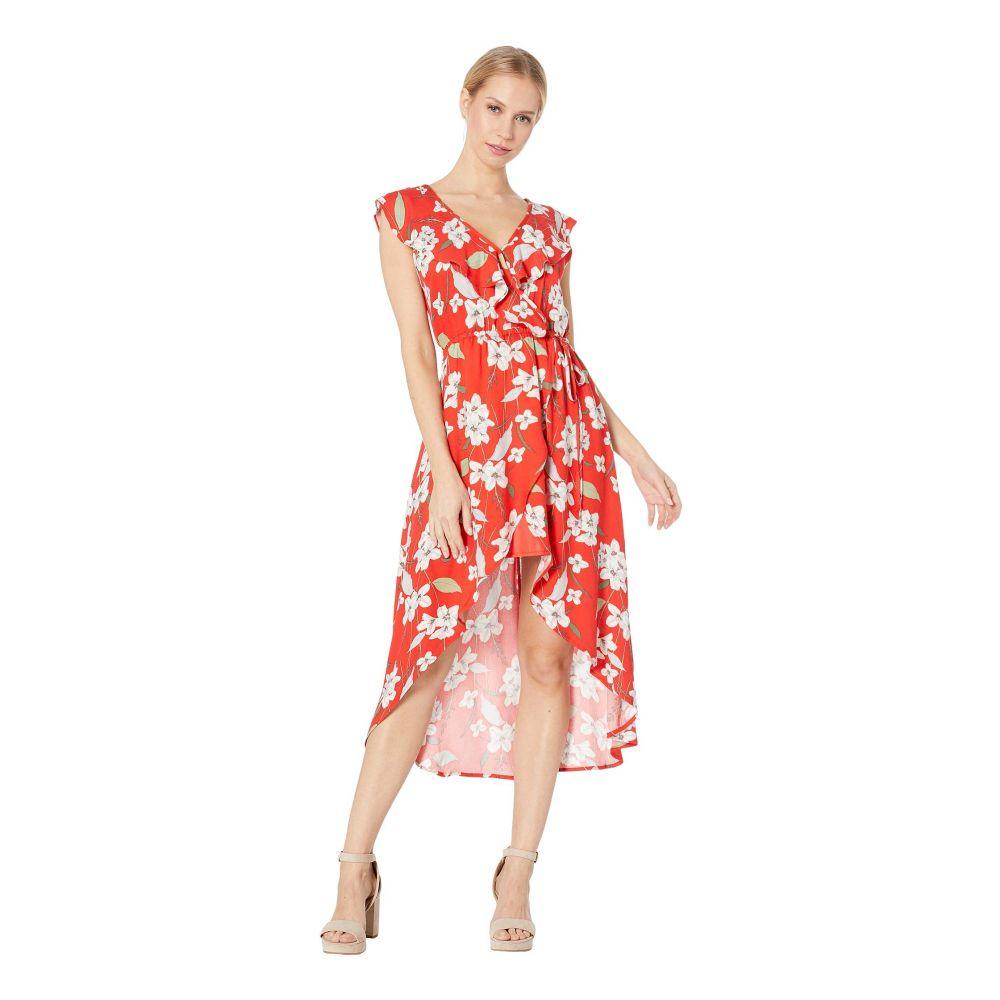 ジャック バイ ビービーダコタ Jack by BB Dakota レディース ワンピース ラップドレス ワンピース・ドレス【Giuld the Lily Printed Wrap Dress】Poppy Red
