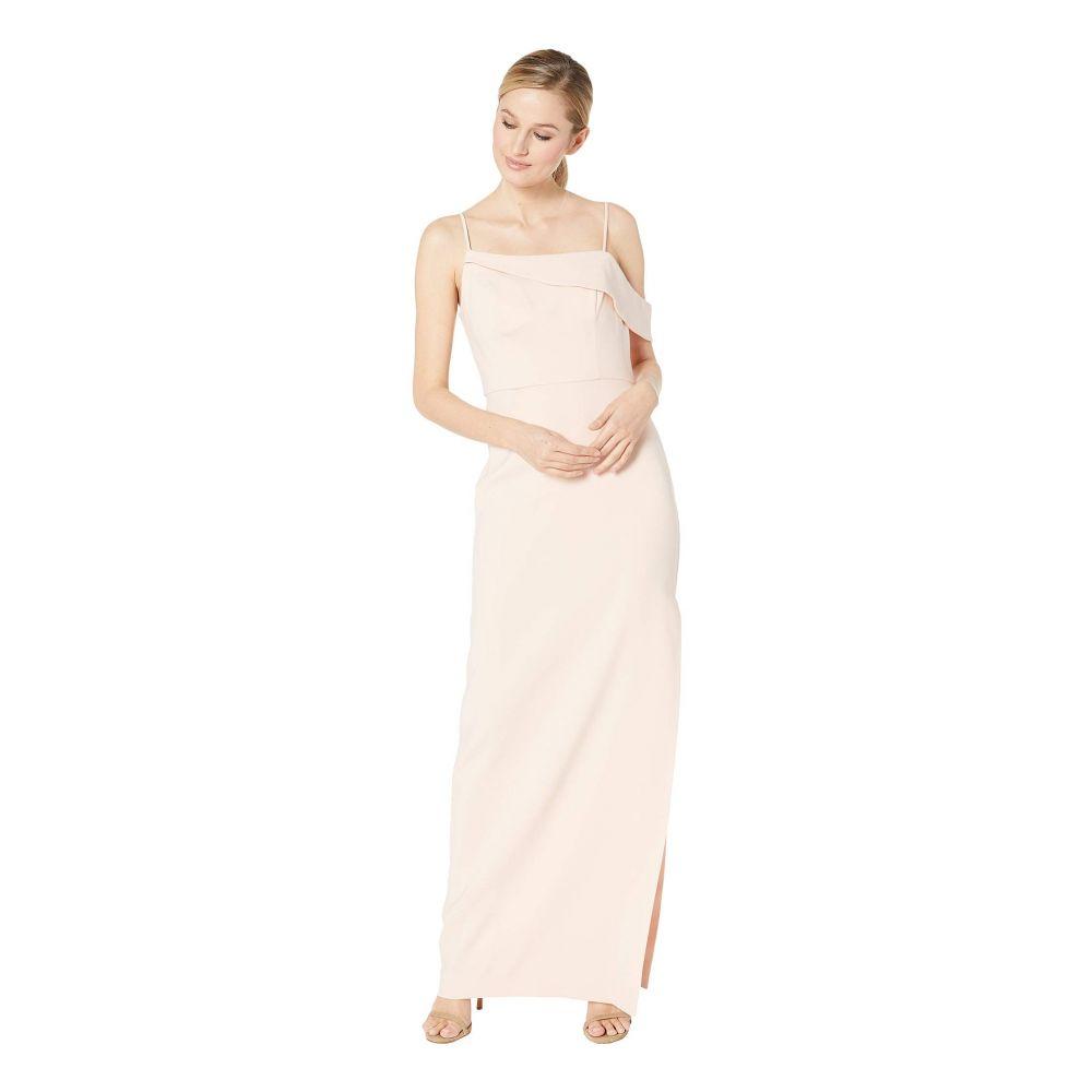 ランドリー Laundry by Shelli Segal レディース パーティードレス ワンピース・ドレス【Asymmetrical Crepe Column Gown】Blush