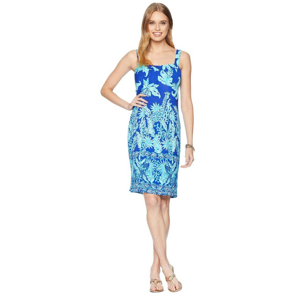 リリーピュリッツァー Lilly Pulitzer レディース ワンピース ワンピース・ドレス【Annalee Stretch Dress】Royal Purple Jungle Path Engineered