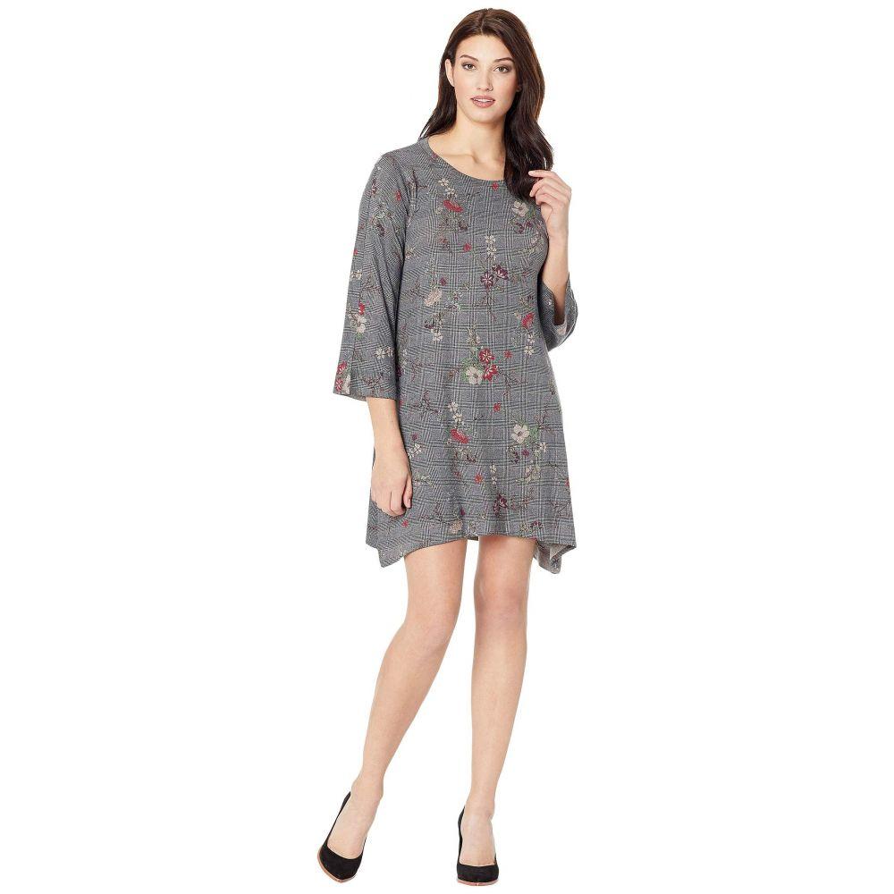 ナリーアンドミリー Nally & Millie レディース ワンピース ワンピース・ドレス【Houndstooth Floral Print Dress】Multi