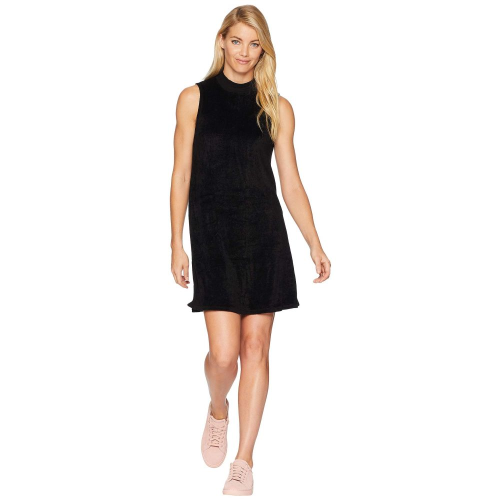 マイケルスターズ Michael Stars レディース ワンピース ワンピース・ドレス【Vali Velvet Swing Mock Neck Dress】Black