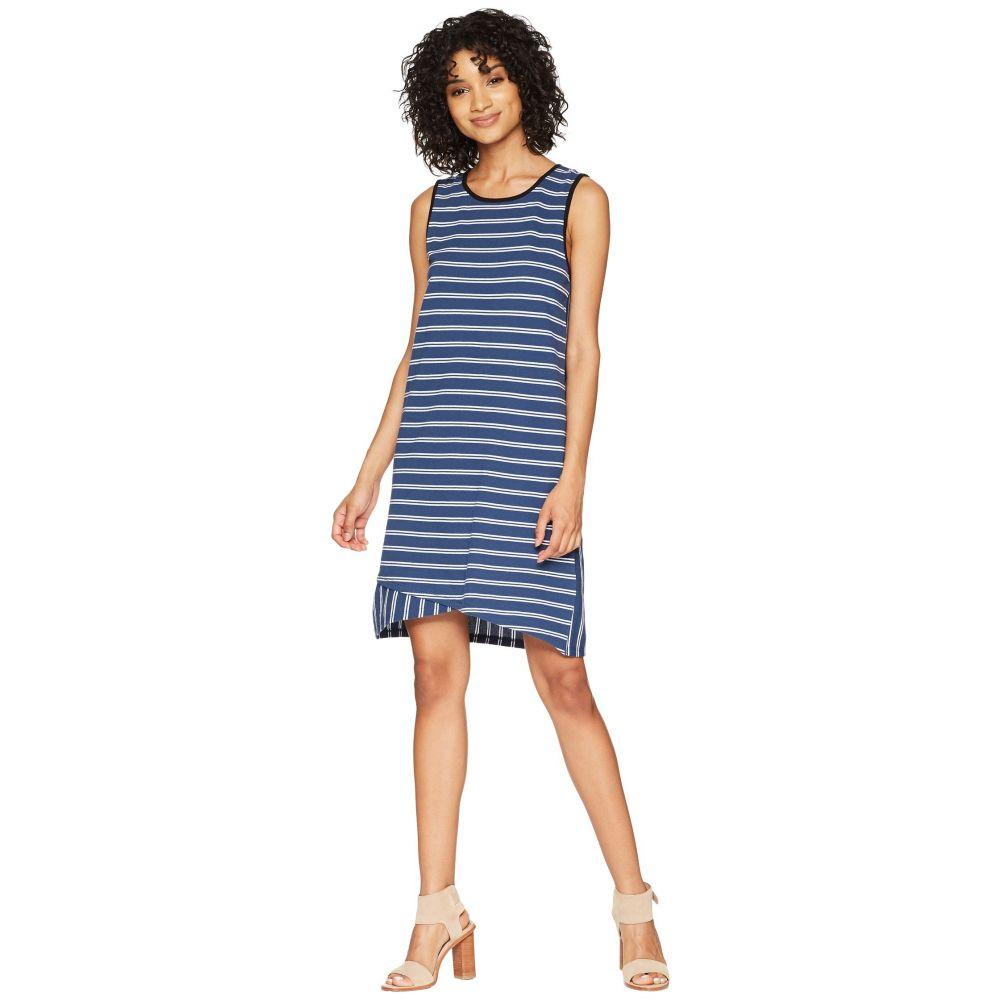 リラピー Lilla P レディース ワンピース ワンピース・ドレス【Crossed Hem Dress】Ink Stripe