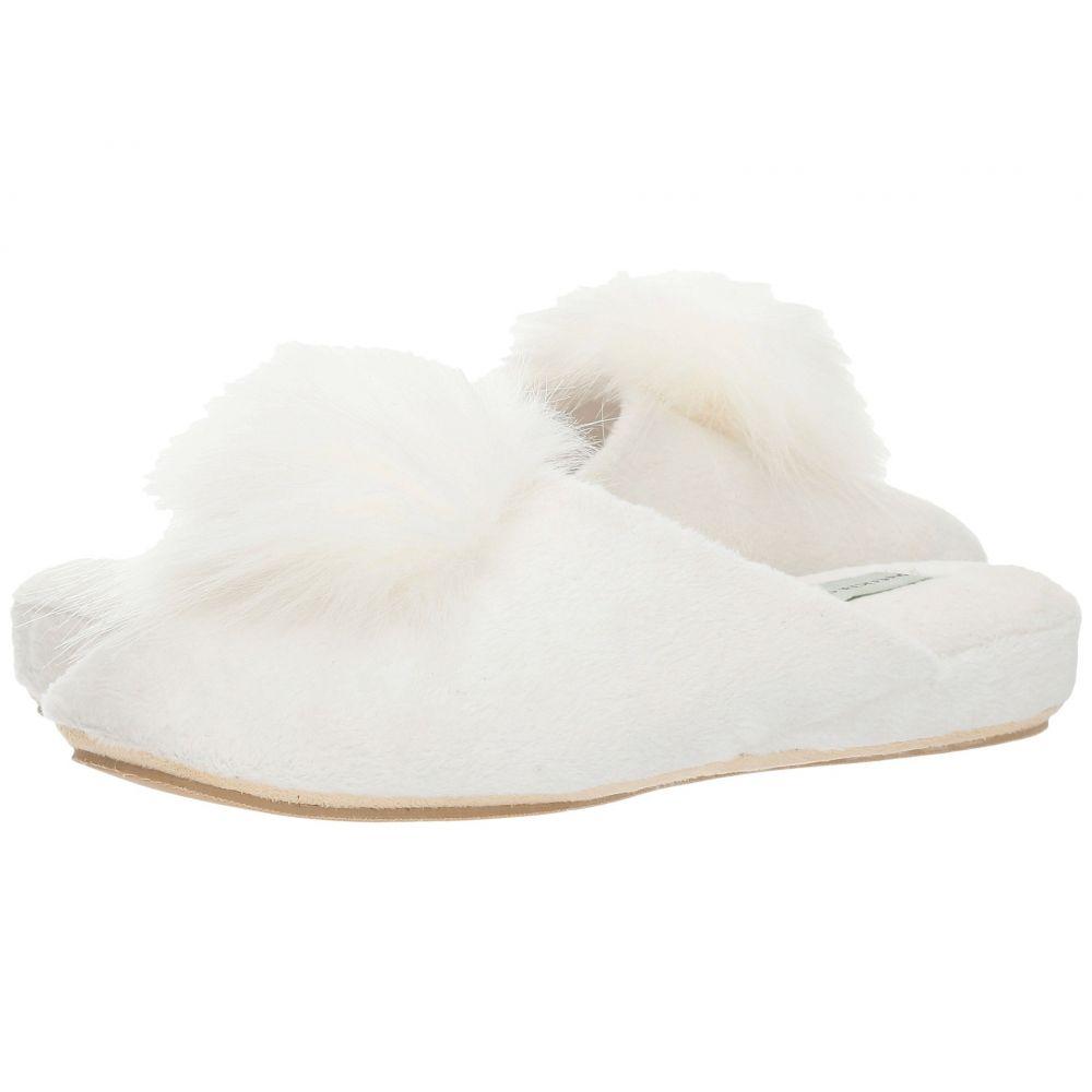 パトリシアグリーン Patricia Green レディース スリッパ シューズ・靴【Pretty Pouf】White