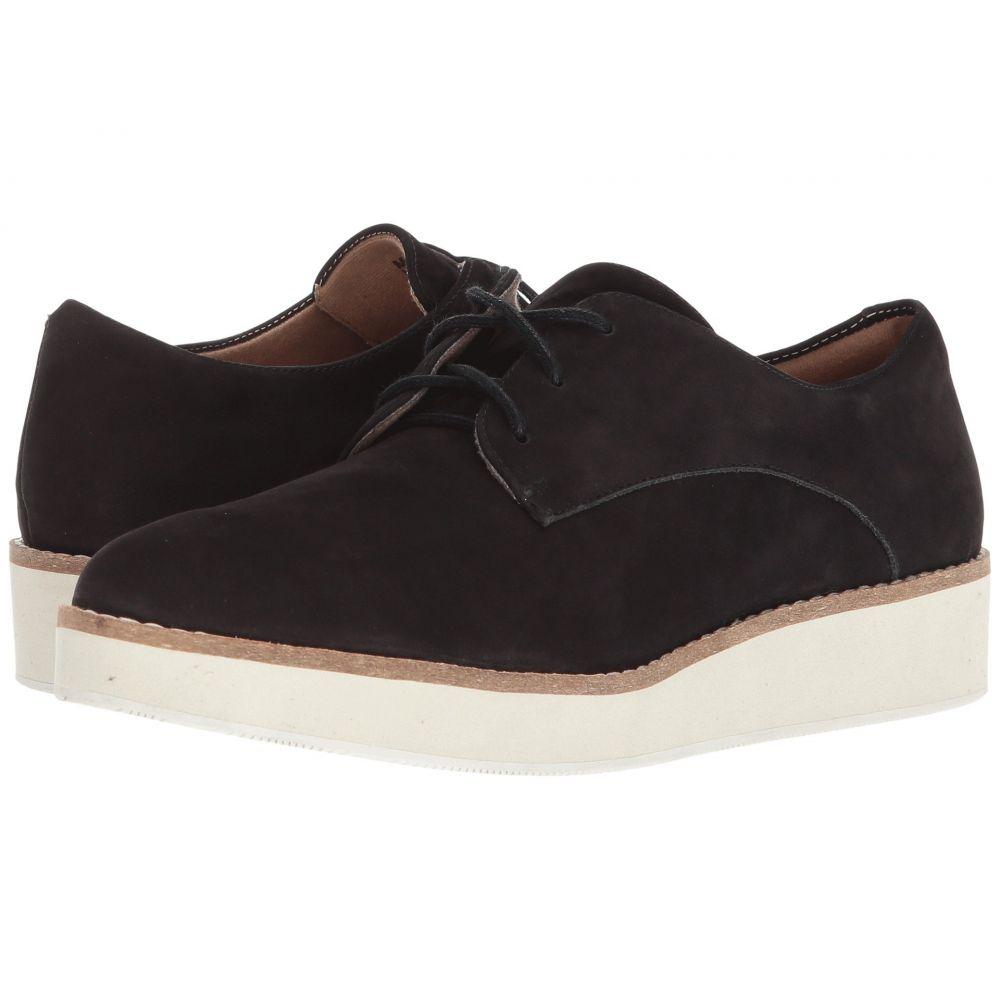 ソフトウォーク SoftWalk レディース ローファー・オックスフォード シューズ・靴【Willis】Black Smooth Nubuck Leather