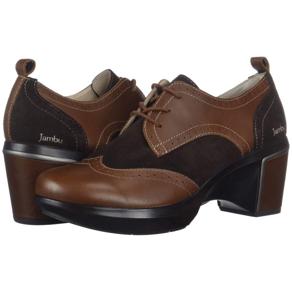 ジャンブー Jambu レディース ローファー・オックスフォード シューズ・靴【San Fran - Encore】Brown
