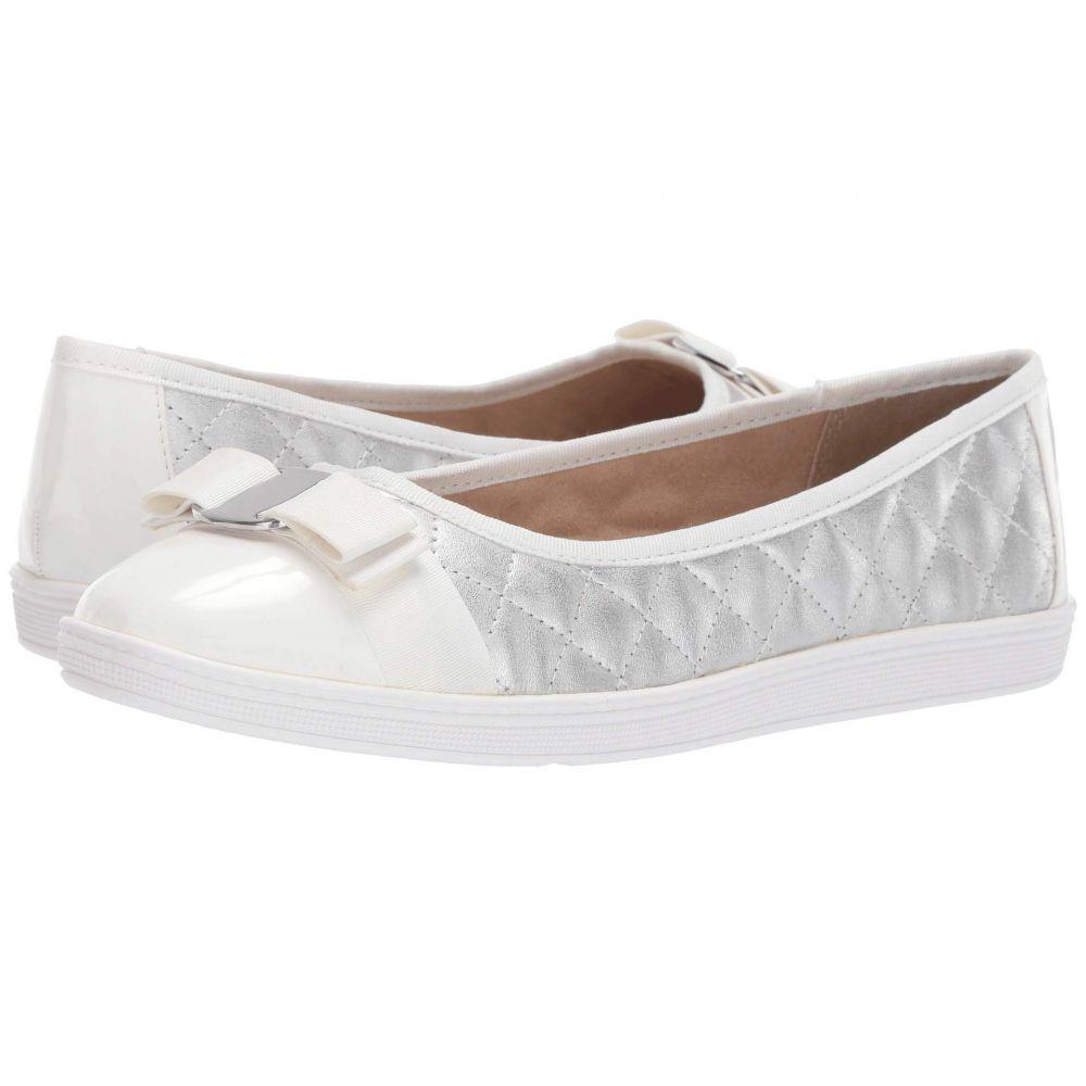 ソフトスタイル Soft Style レディース スリッポン・フラット シューズ・靴【Faeth】Silver