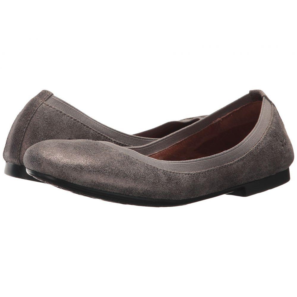 フライ Frye レディース スリッポン・フラット シューズ・靴【Carson Gore Ballet】Silver