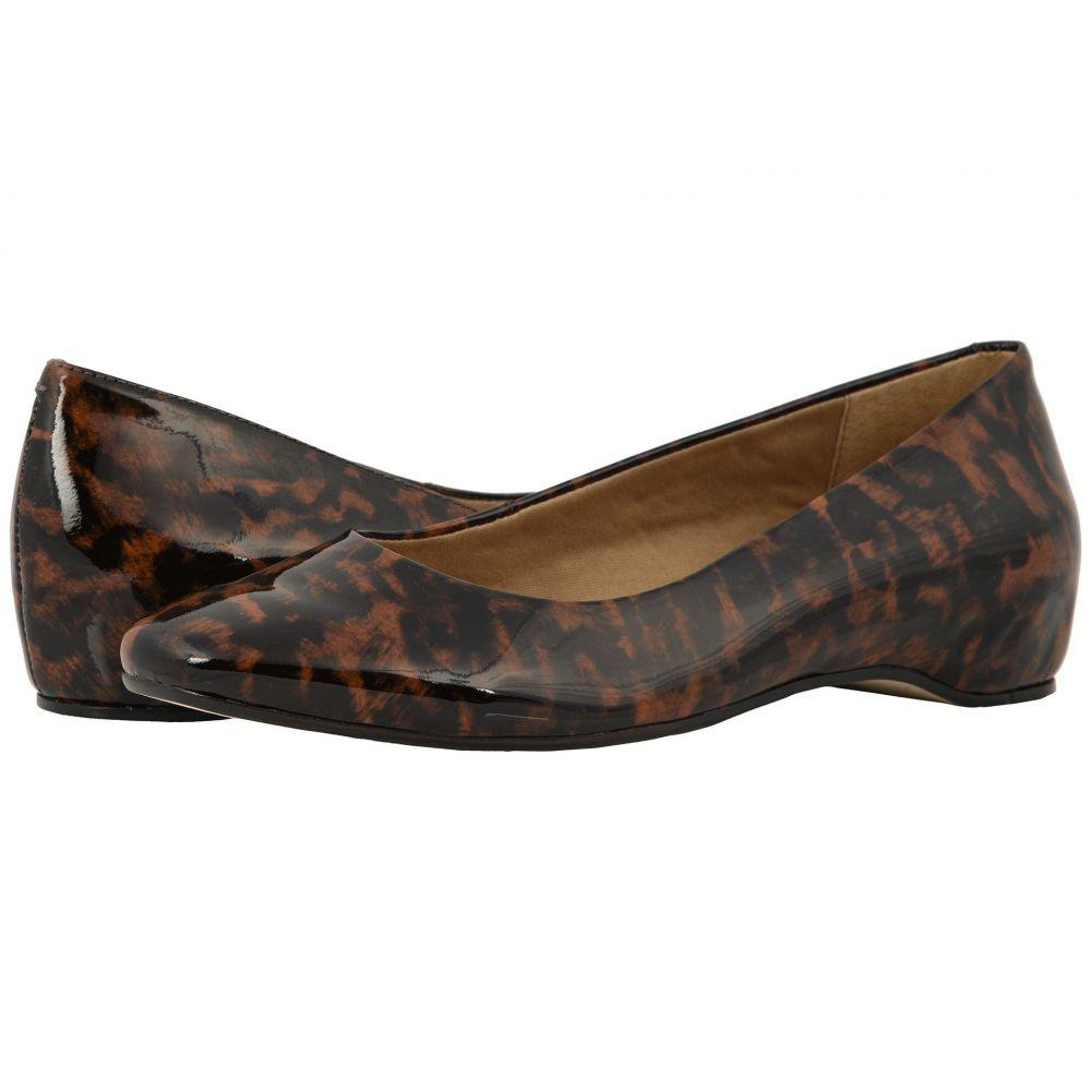 ウォーキング クレードル Walking Cradles レディース スリッポン・フラット シューズ・靴【Pisces】Leopard Patent