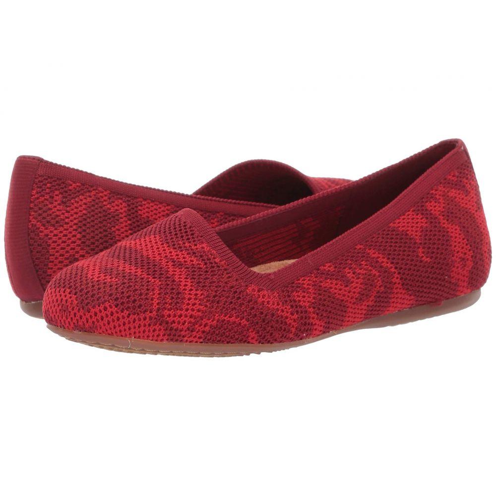 ソフトウォーク SoftWalk レディース スリッポン・フラット シューズ・靴【Sicily】Red