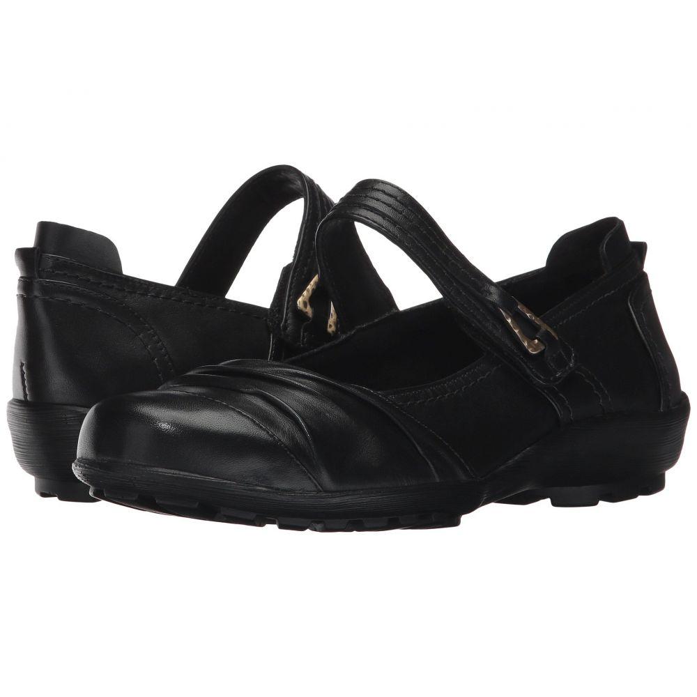 ウォーキング クレードル Walking Cradles レディース スリッポン・フラット シューズ・靴【Hayden】Black Leather