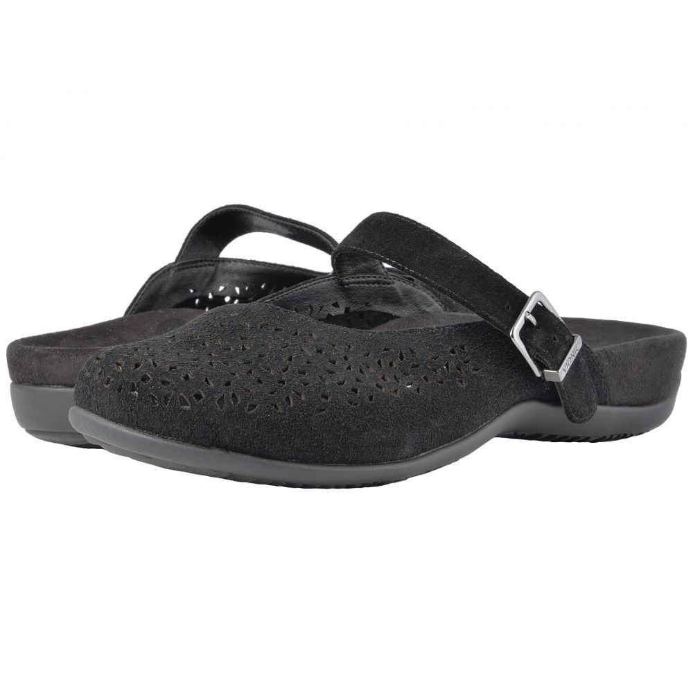 バイオニック VIONIC レディース スリッポン・フラット シューズ・靴【Lidia】Black