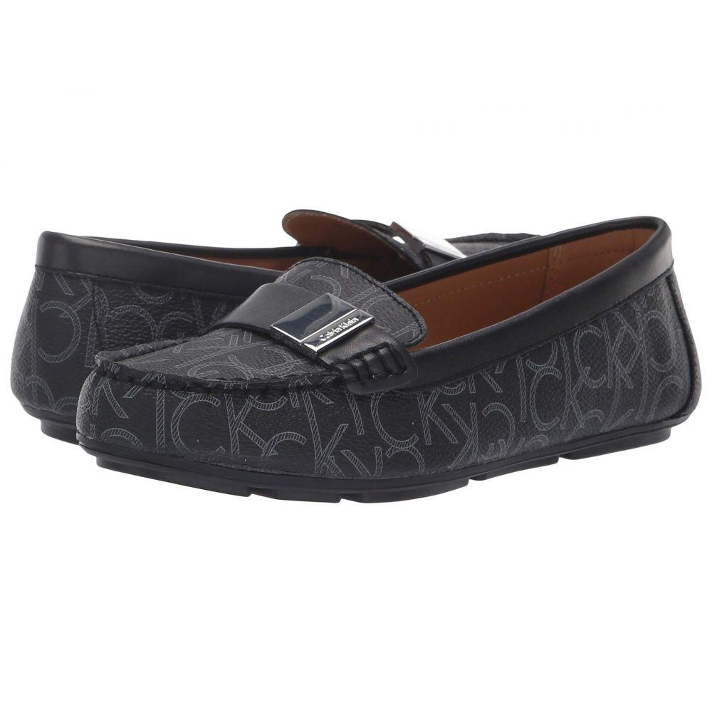 カルバンクライン Calvin Klein レディース ローファー・オックスフォード シューズ・靴【Lisa】Black/Black