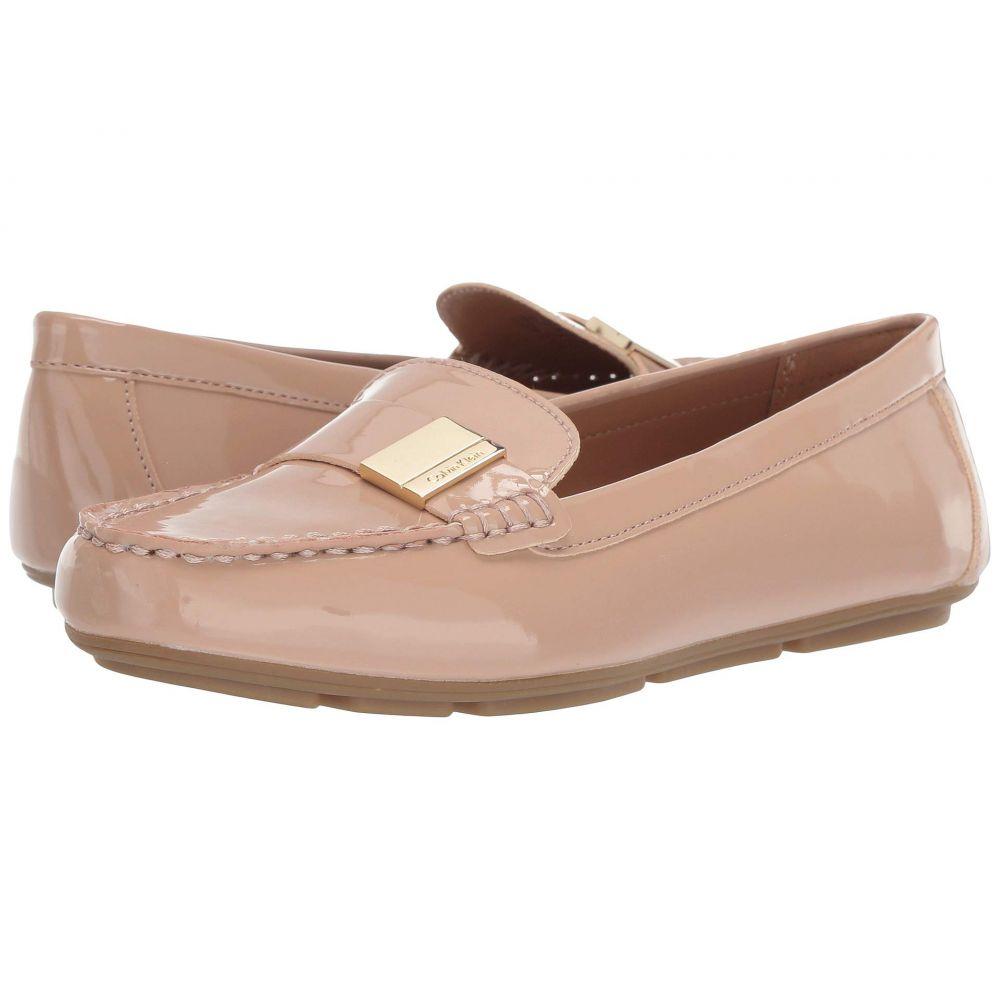 カルバンクライン Calvin Klein レディース ローファー・オックスフォード シューズ・靴【Lisa】Desert Sand Patent
