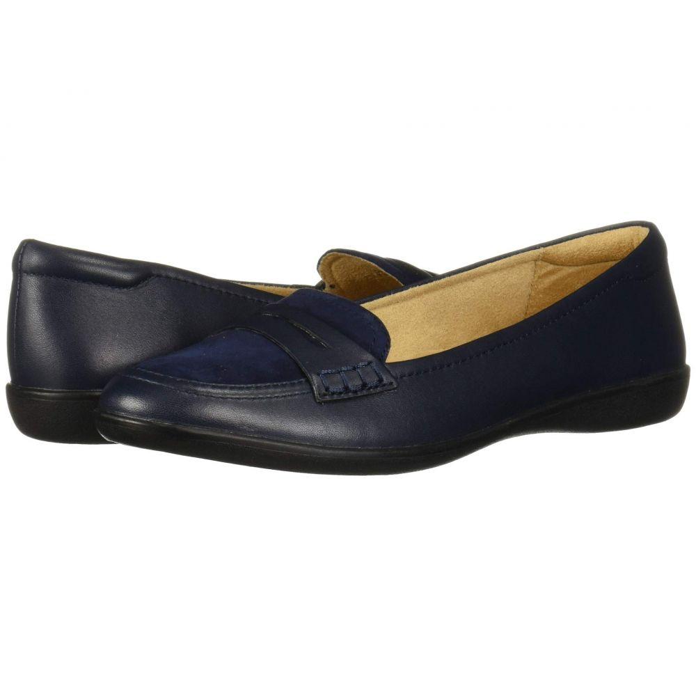 ナチュラライザー Naturalizer レディース ローファー・オックスフォード シューズ・靴【Finley】Inky Navy Leather/Suede