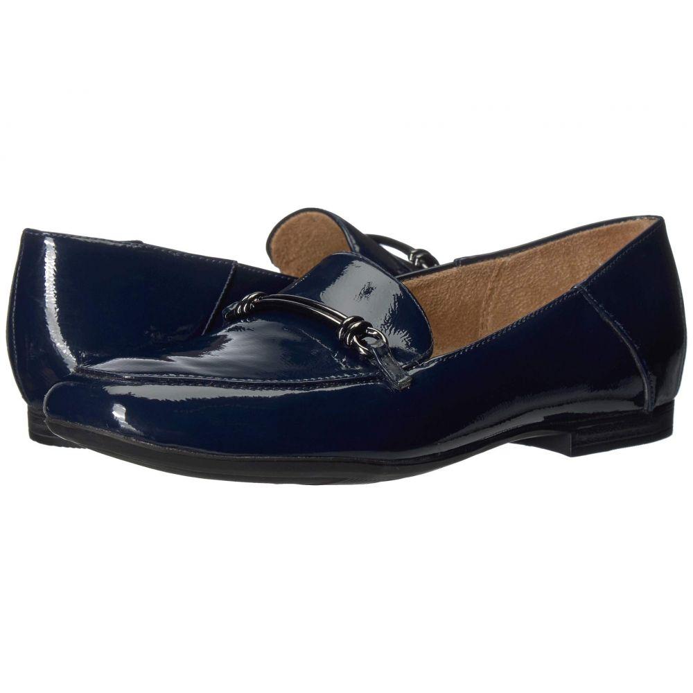 ナチュラライザー Naturalizer レディース ローファー・オックスフォード シューズ・靴【Kari】Inky Navy Patent Synthetic