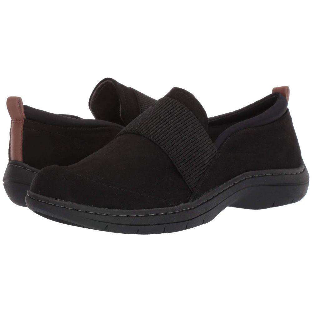 ドクター ショール Dr. Scholl's レディース ローファー・オックスフォード シューズ・靴【Joanna】Black Microfiber