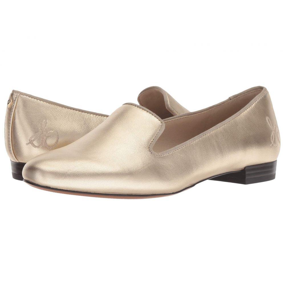 サム エデルマン Sam Edelman レディース ローファー・オックスフォード シューズ・靴【Jordy】Molten Gold Distressed Metallic Leather