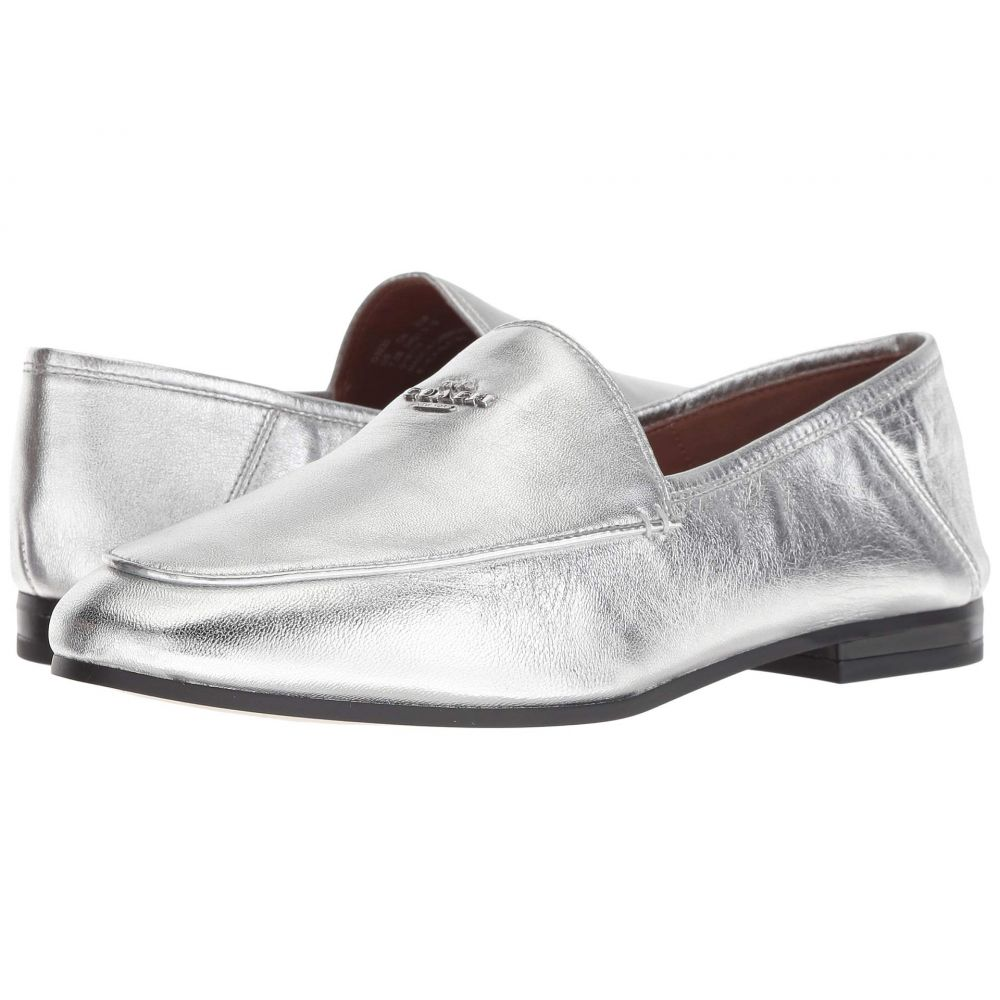 コーチ COACH レディース ローファー・オックスフォード シューズ・靴【Hallie Metallic Loafer】Silver