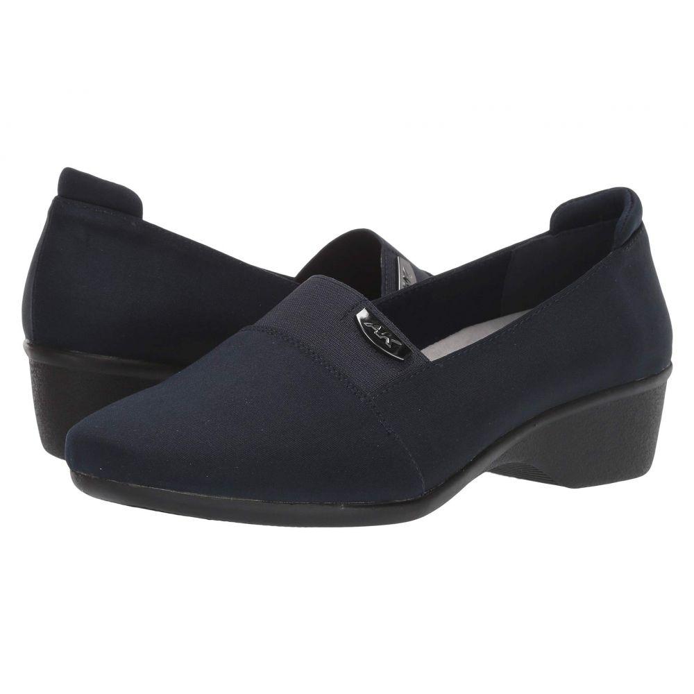 アン クライン Anne Klein レディース ローファー・オックスフォード シューズ・靴【Wallas】Navy