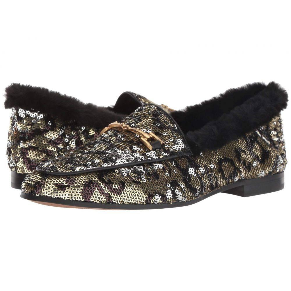 サム エデルマン Sam Edelman レディース ローファー・オックスフォード シューズ・靴【Loraine Loafer】Metallic Multi Glam Sequins Spotted Glam Sequins