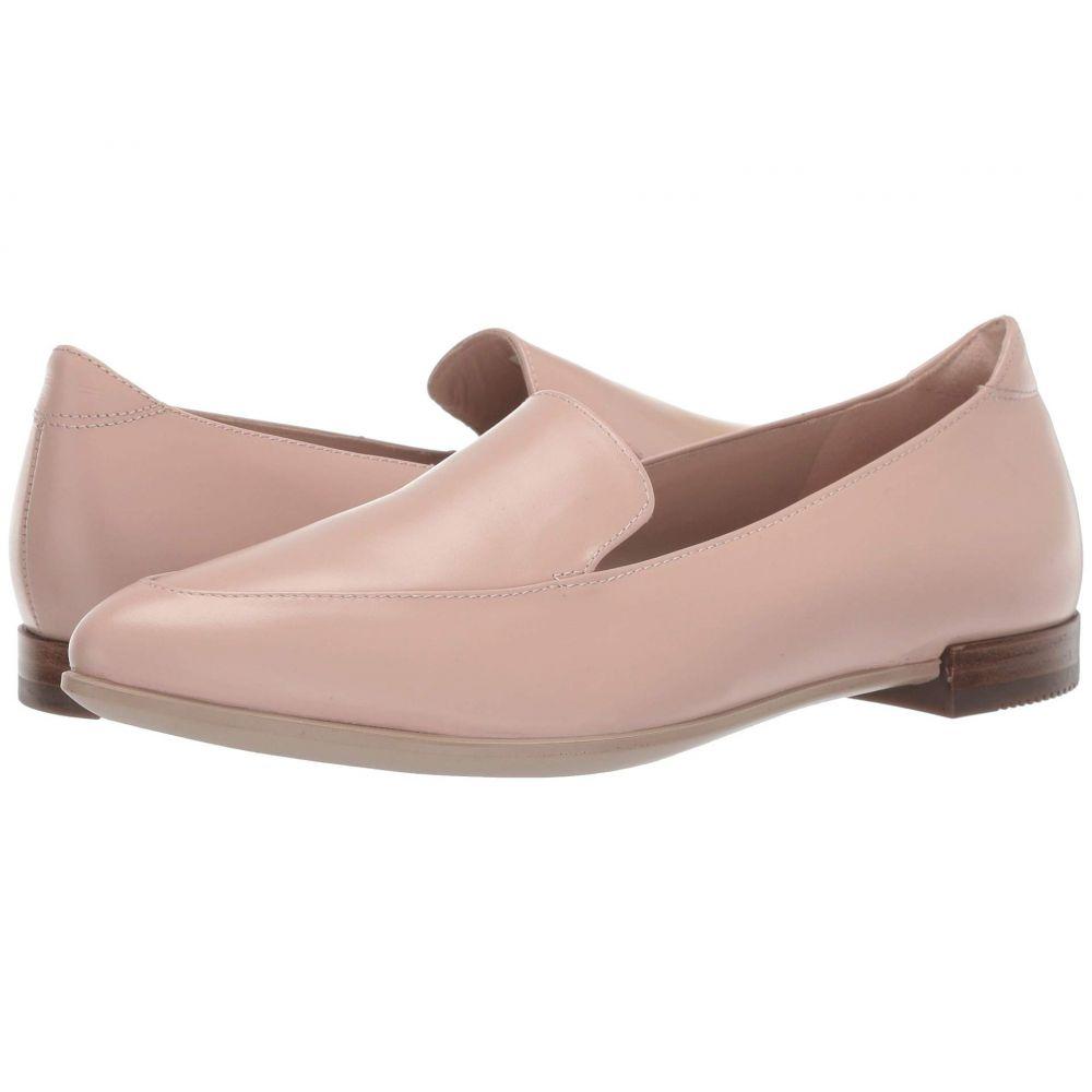 エコー ECCO レディース ローファー・オックスフォード シューズ・靴【Shape Pointy Ballerina II】Rose Dust Calf Leather
