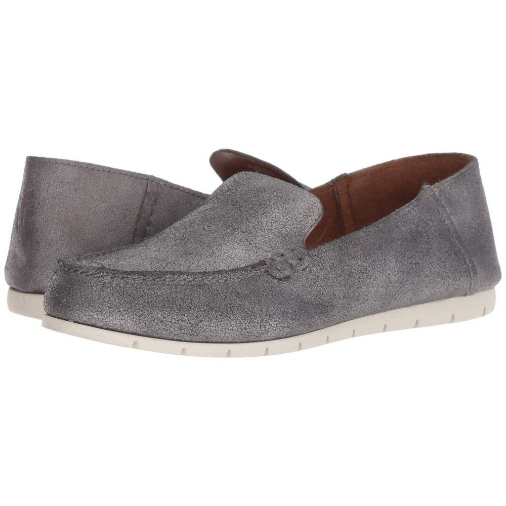 フライ Frye レディース ローファー・オックスフォード シューズ・靴【Sedona Venetian Moc】Silver Metallic