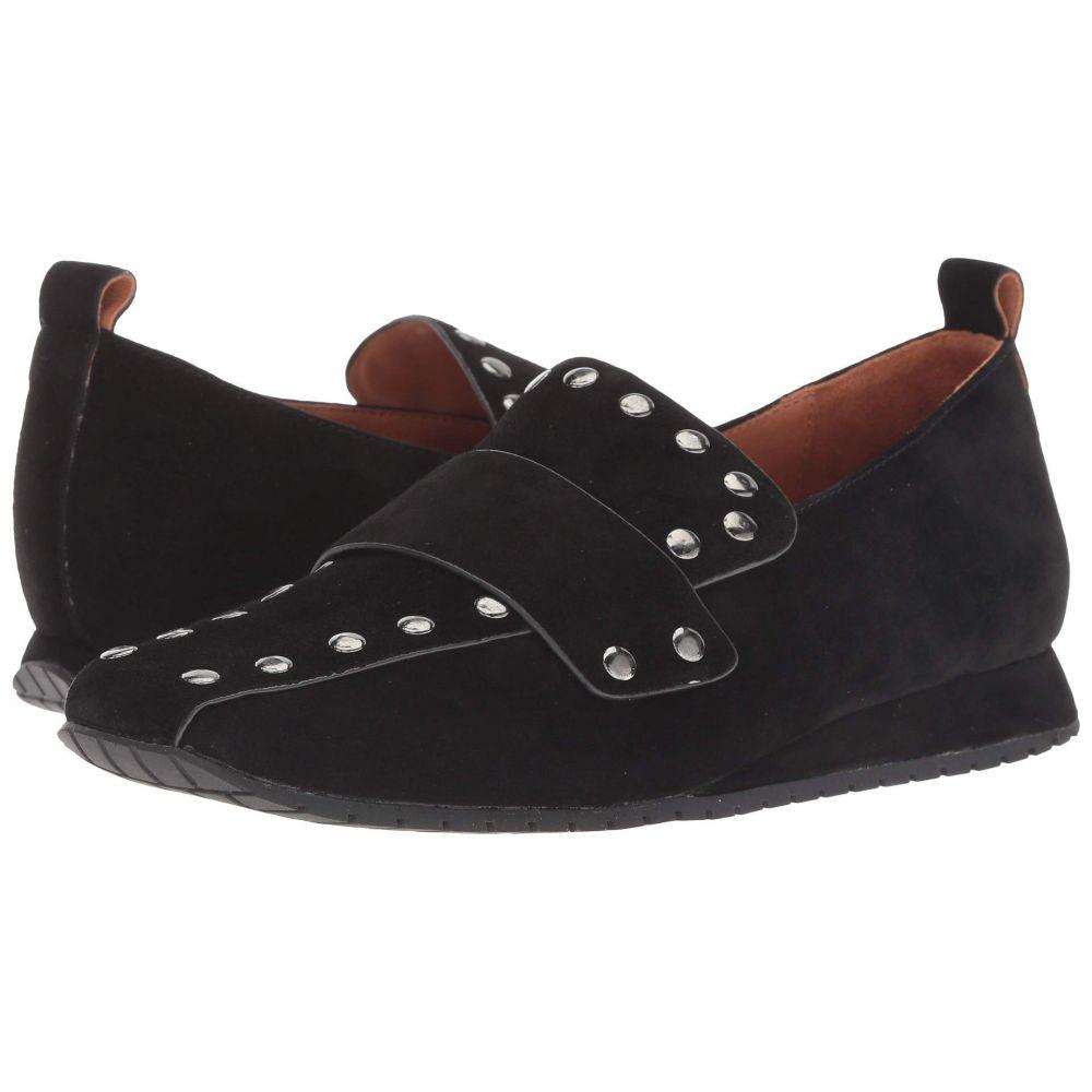ラモールドピード L'Amour Des Pieds レディース ローファー・オックスフォード シューズ・靴【Tejana】Black Suede