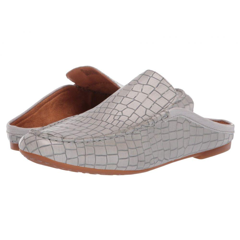 ボーン Born レディース ローファー・オックスフォード シューズ・靴【Capricorn - Annamaria Collection】Grey Croc Full Grain Leather