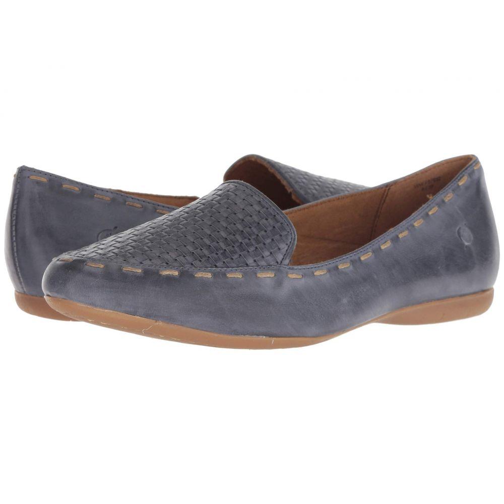 ボーン Born レディース ローファー・オックスフォード シューズ・靴【Maple】Light Blue Full Grain Leather