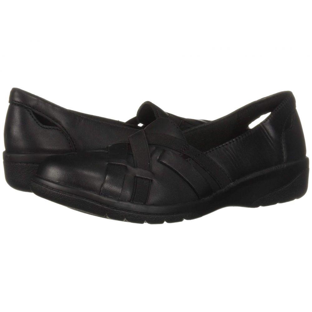 クラークス Clarks レディース ローファー・オックスフォード シューズ・靴【Cheyn Creek】Black Leather
