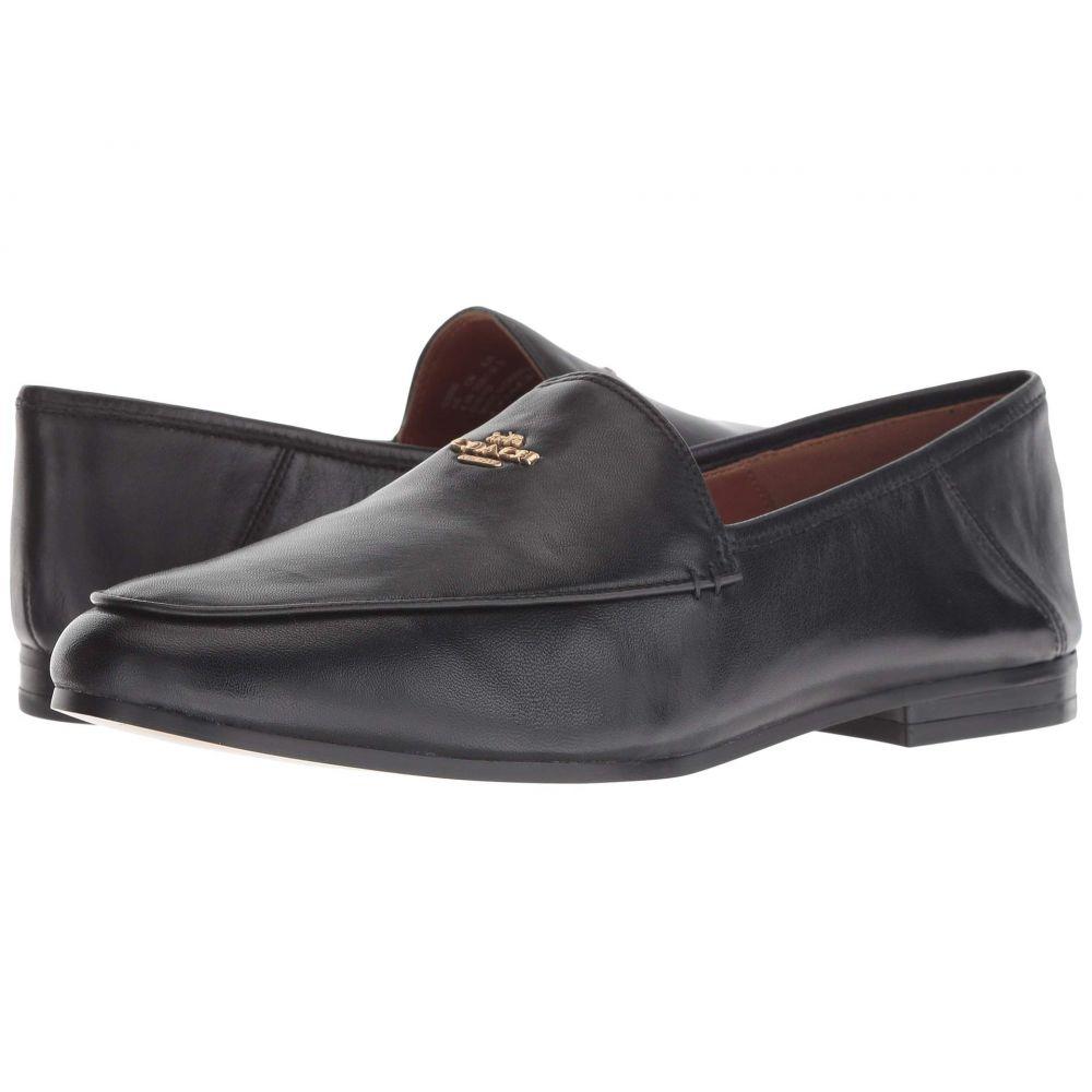 コーチ COACH レディース ローファー・オックスフォード シューズ・靴【Hallie Leather Loafer】Black