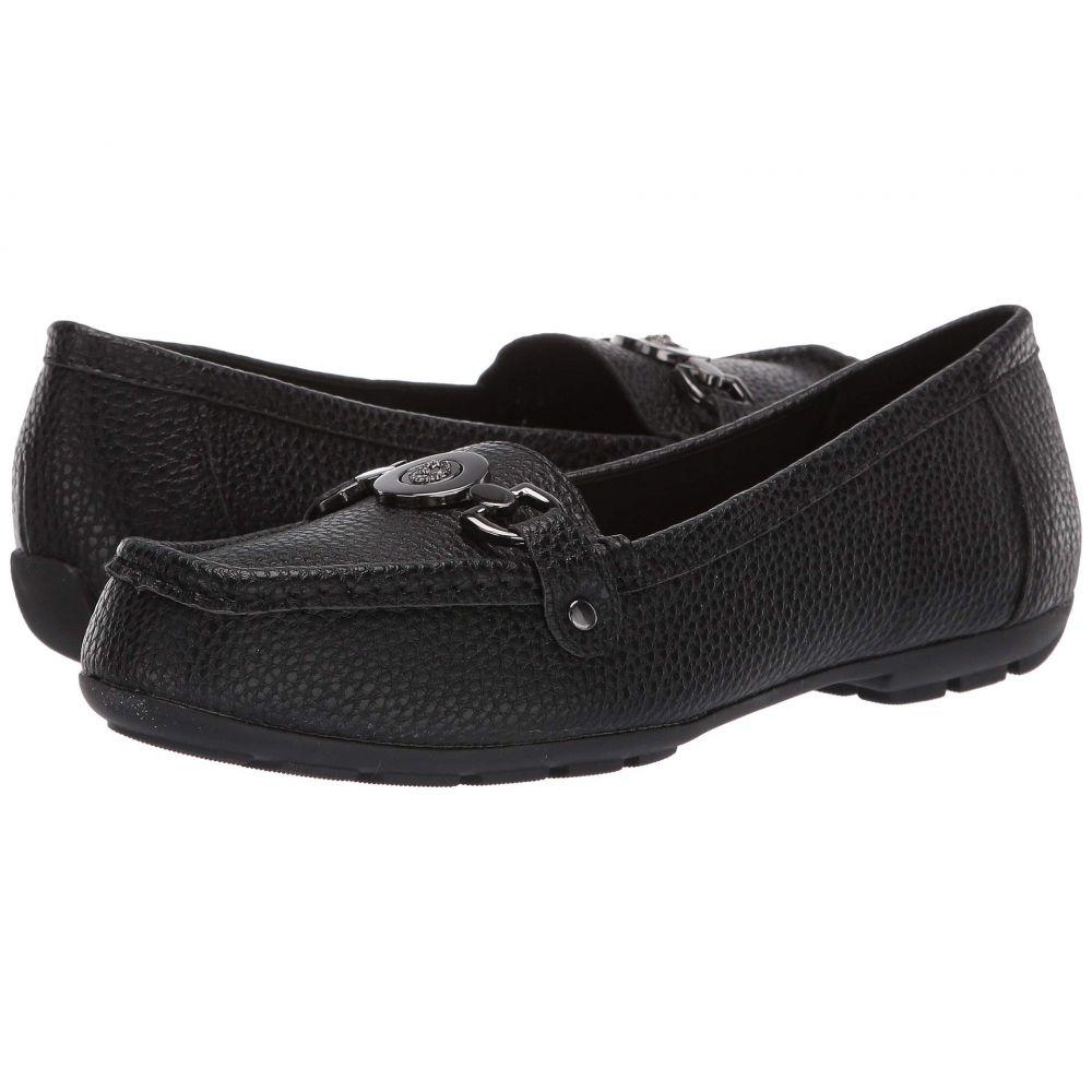 アン クライン Anne Klein レディース ローファー・オックスフォード シューズ・靴【Obara】Black