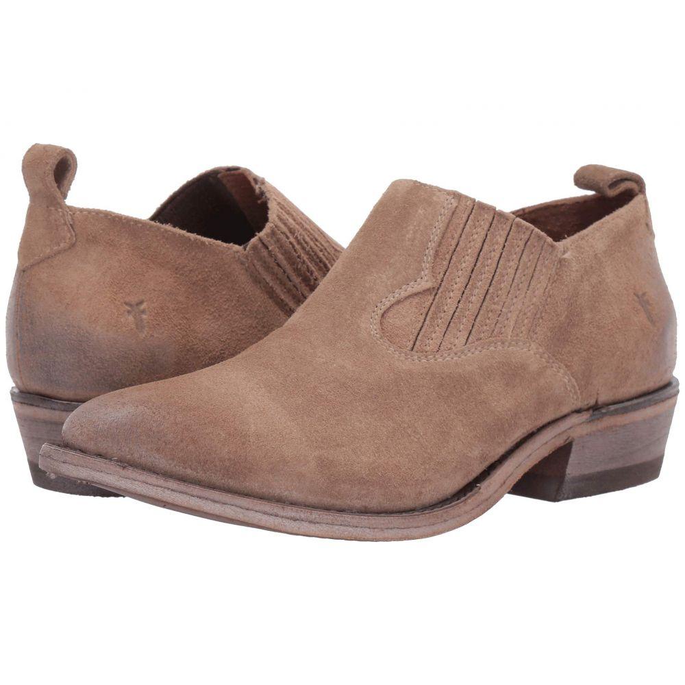 フライ Frye レディース ローファー・オックスフォード シューズ・靴【Billy Shootie】Beige Multi Waxed Oiled Suede