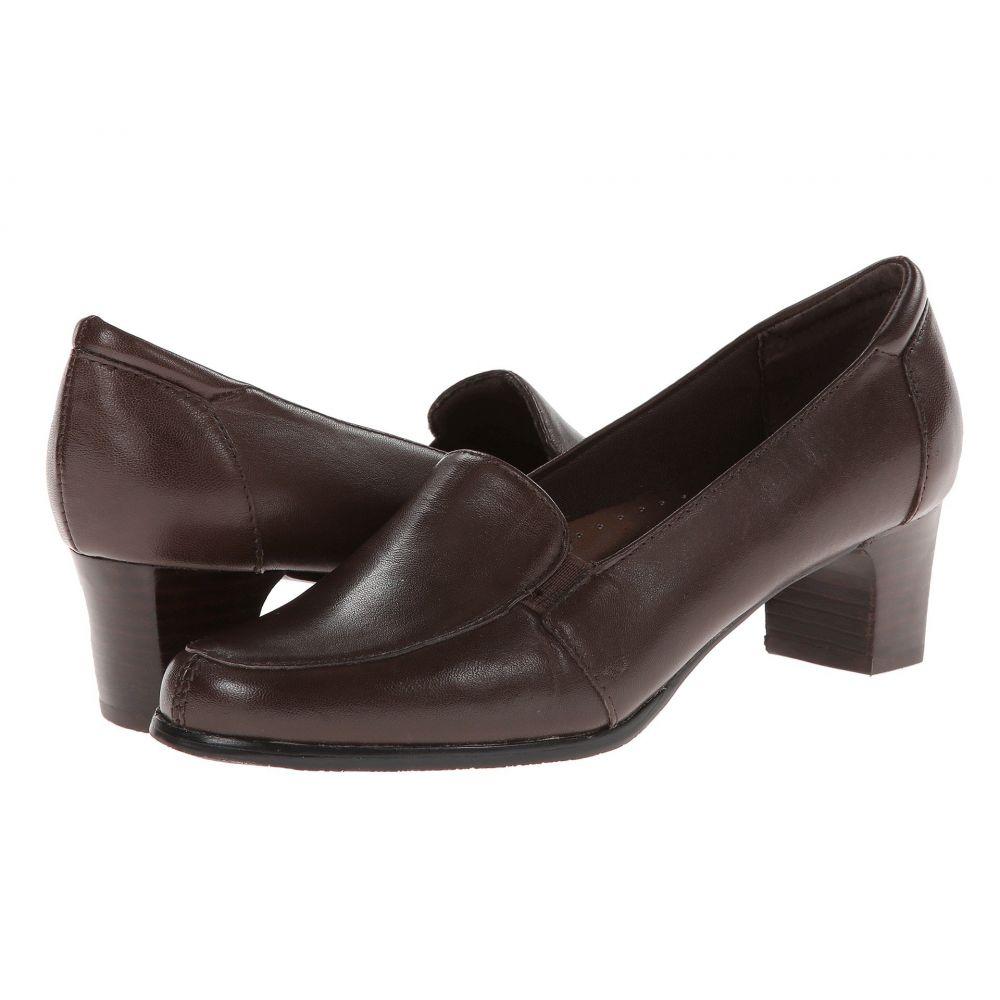トロッターズ Trotters レディース ローファー・オックスフォード シューズ・靴【Gloria】Mocha Leather