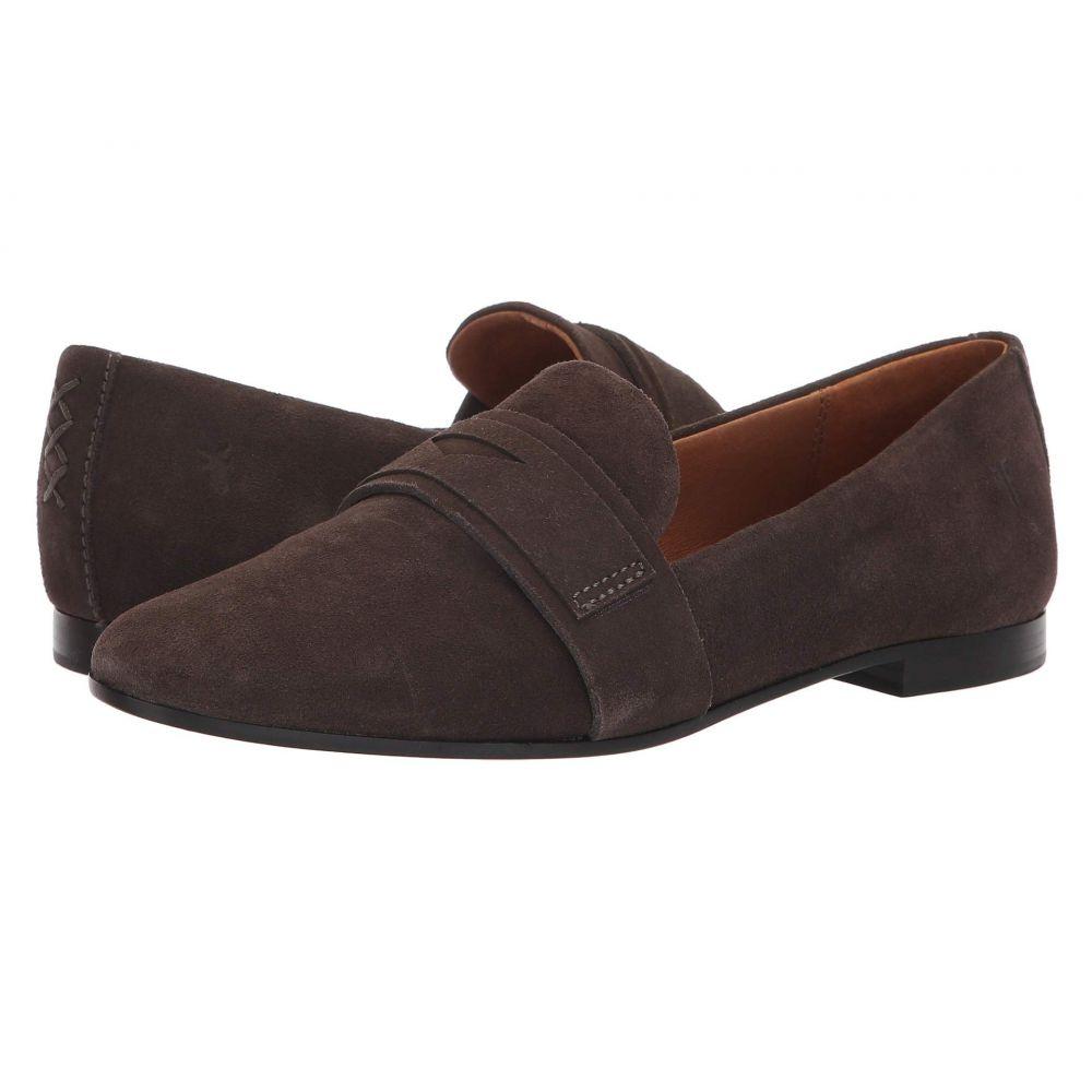 フライ Frye レディース ローファー・オックスフォード シューズ・靴【Terri Penny Loafer】Charcoal Suede