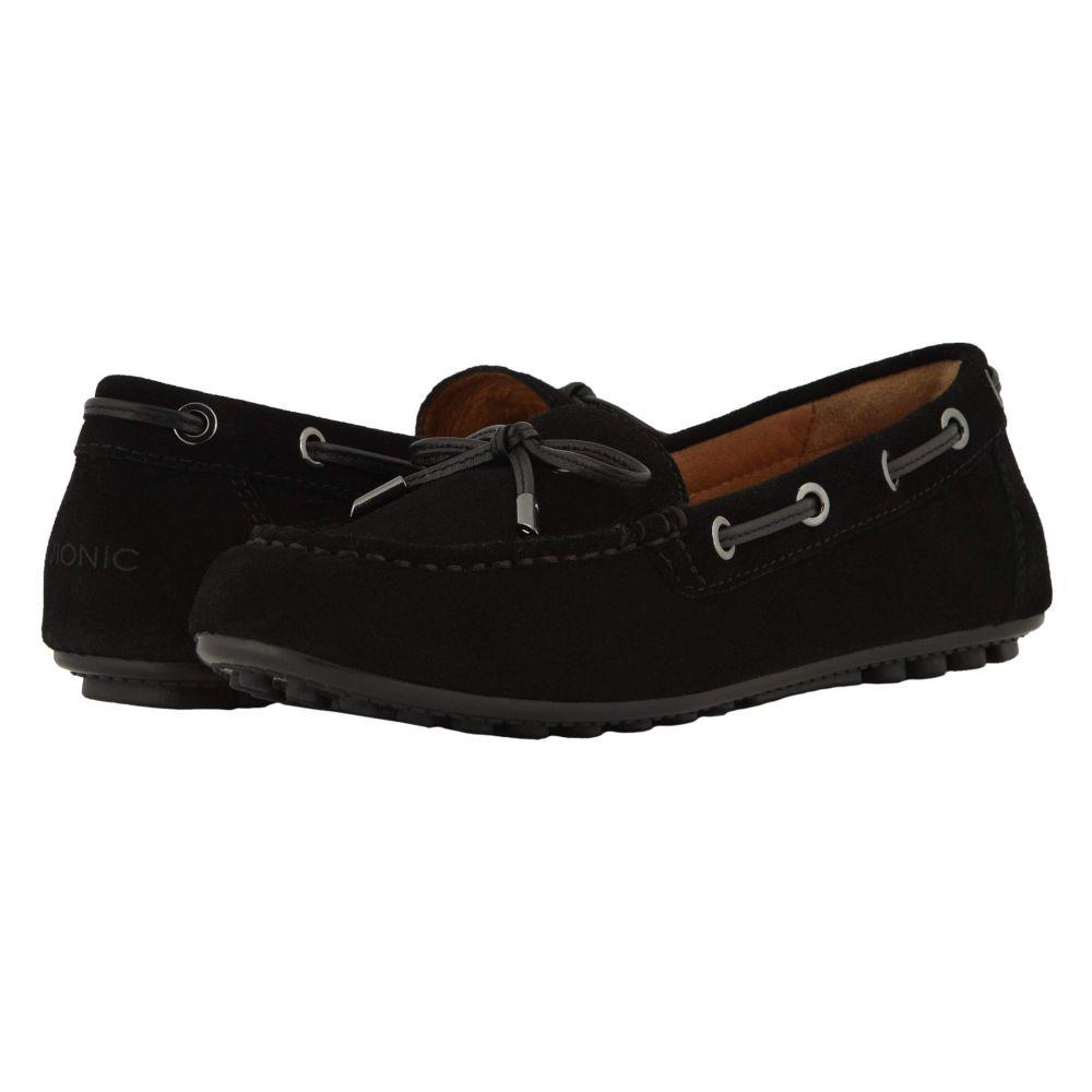 バイオニック VIONIC レディース ローファー・オックスフォード シューズ・靴【Virginia】Black