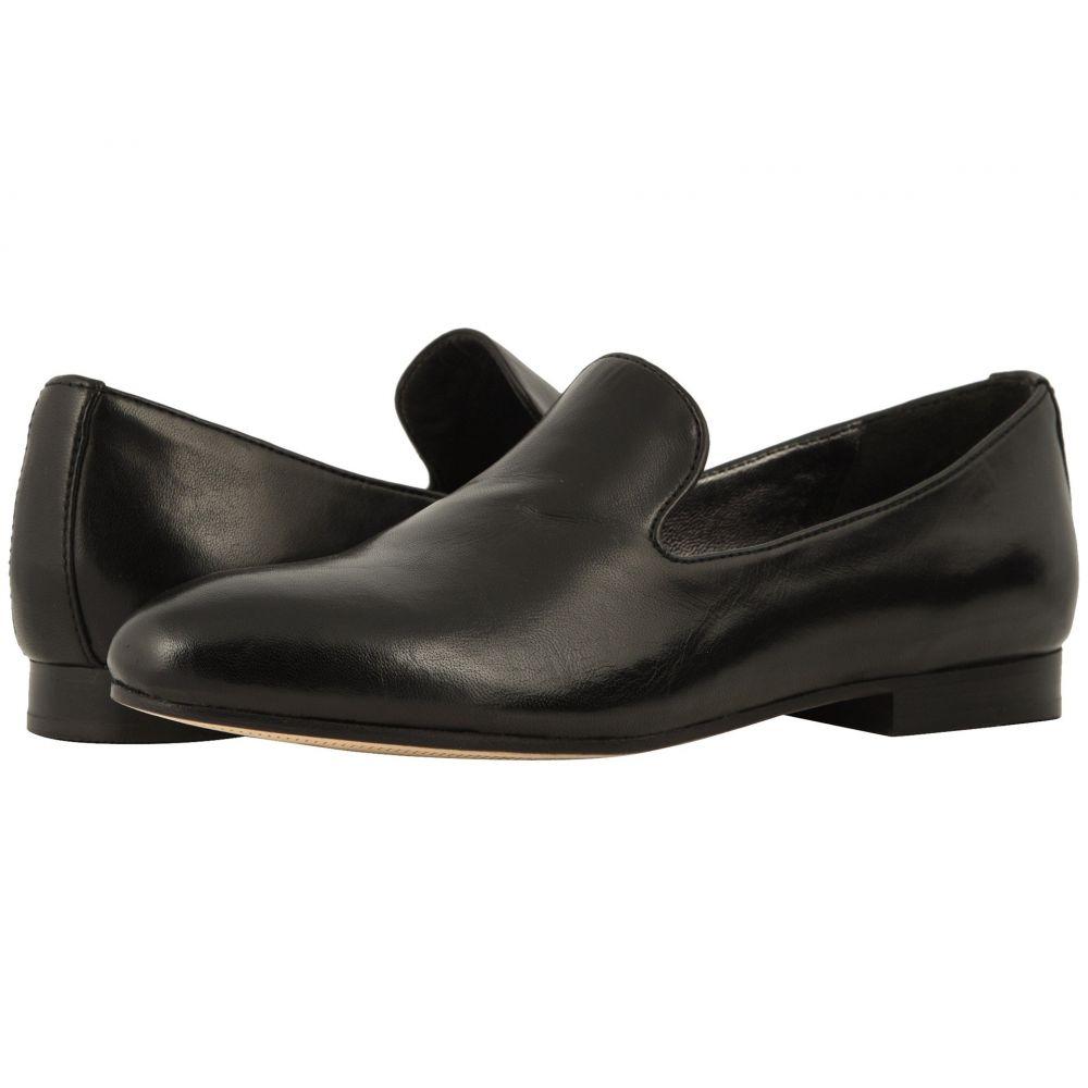 ジョンストン&マーフィー Johnston & Murphy レディース ローファー・オックスフォード シューズ・靴【Sierra】Black Glove Leather