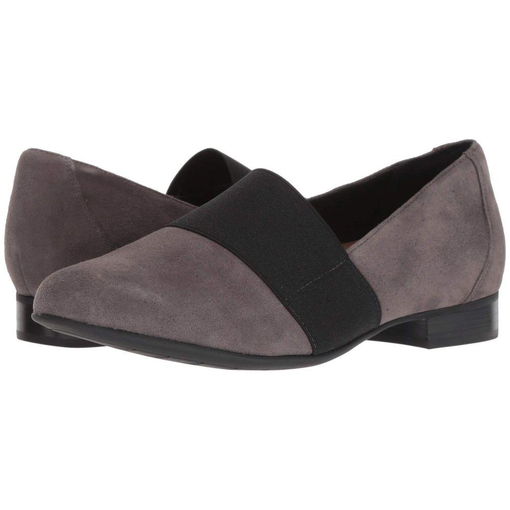 クラークス Clarks レディース ローファー・オックスフォード シューズ・靴【Un Blush Lo】Dark Grey Suede