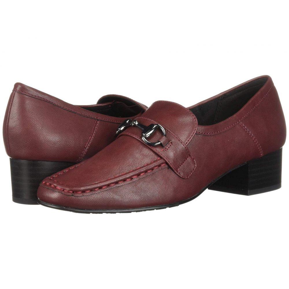 ソフトスタイル Soft Style レディース ローファー・オックスフォード シューズ・靴【Ginny】Wine