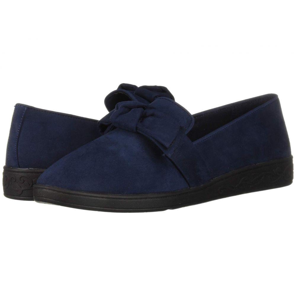 ソフトスタイル Soft Style レディース ローファー・オックスフォード シューズ・靴【Pazazz】True Navy Faux Suede