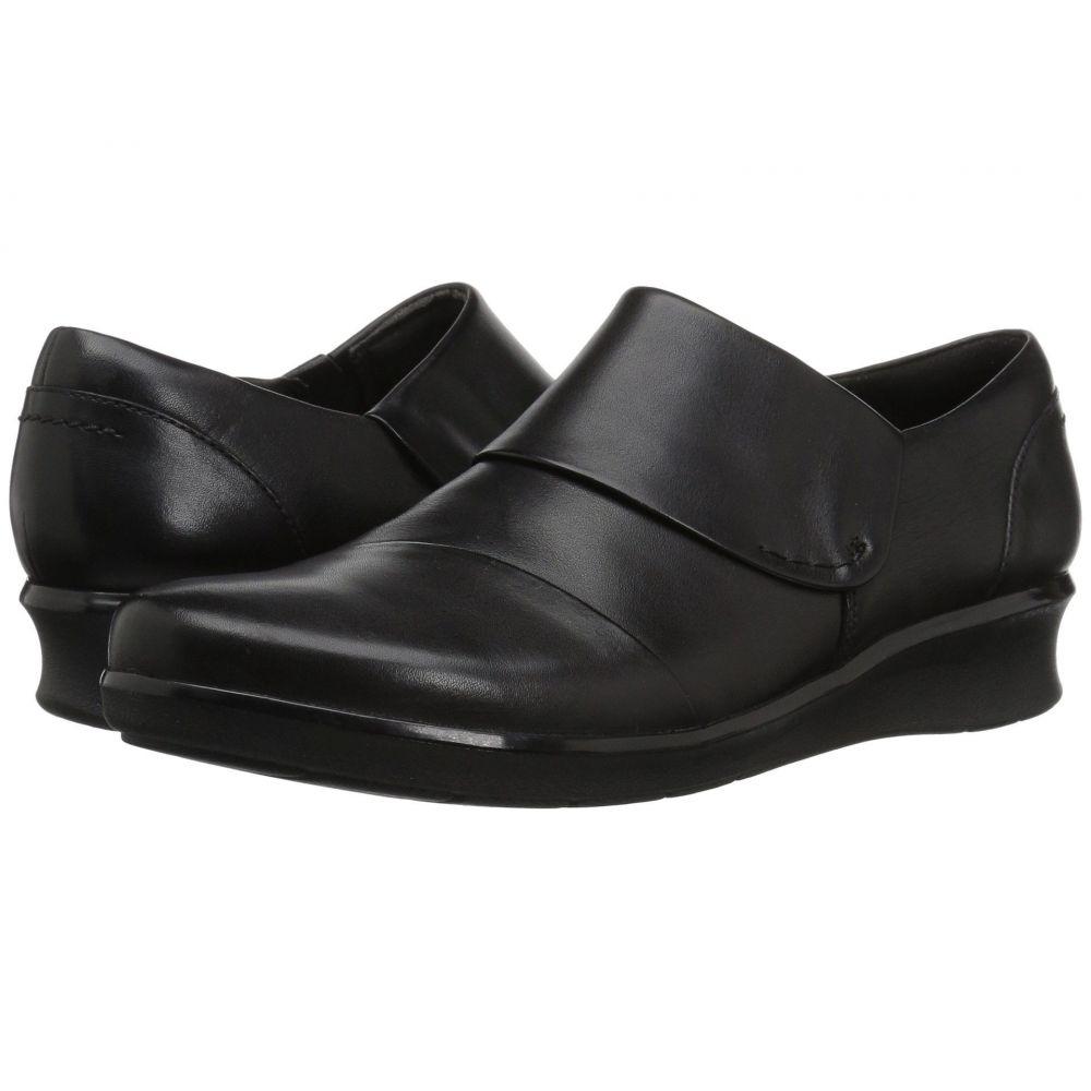 クラークス Clarks レディース ローファー・オックスフォード シューズ・靴【Hope Race】Black Leather