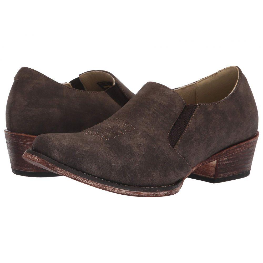 ローパー Roper レディース ローファー・オックスフォード シューズ・靴【Birkita Classic】Vintage Brown Faux Leather